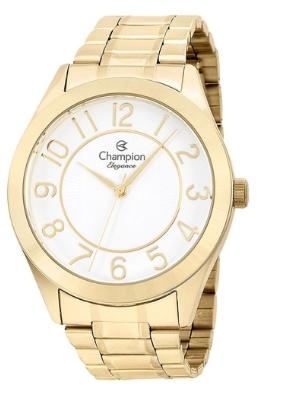Relógio Feminino Champion Dourado Elegance