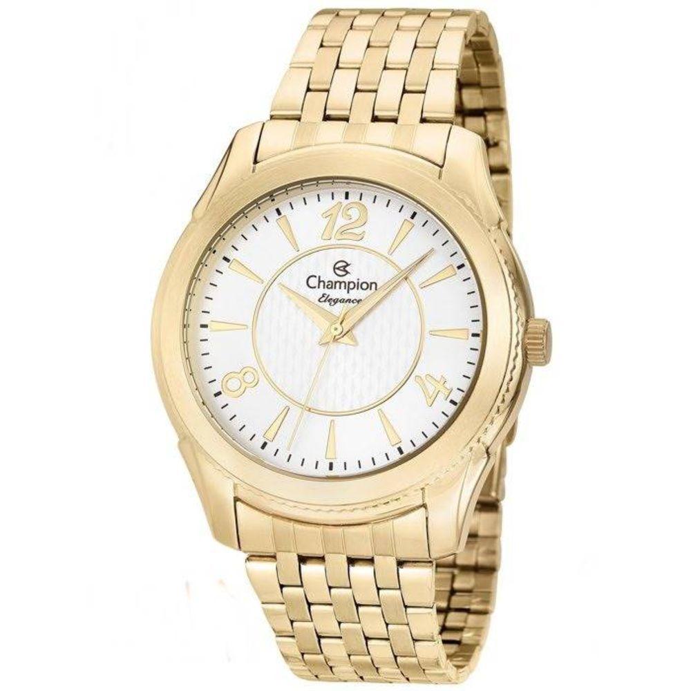 Relógio Feminino Champion Elegance Analógico Dourado