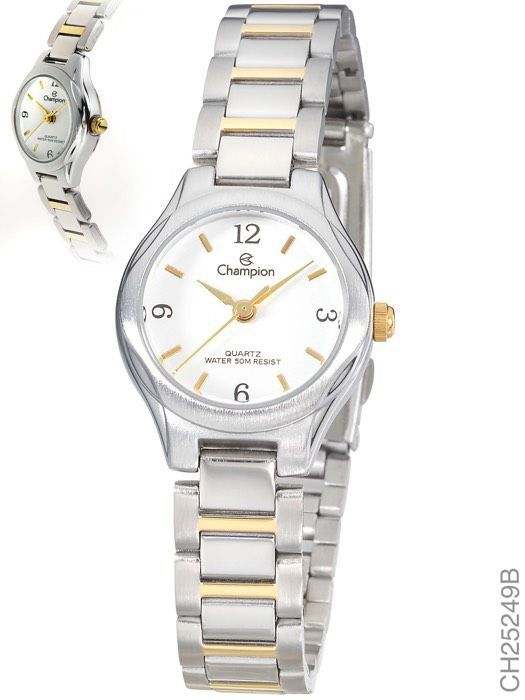 Relógio Feminino Champion Misto