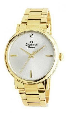 Relógio Feminino Dourado Champion