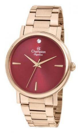 Relógio Feminino Rosé Champion