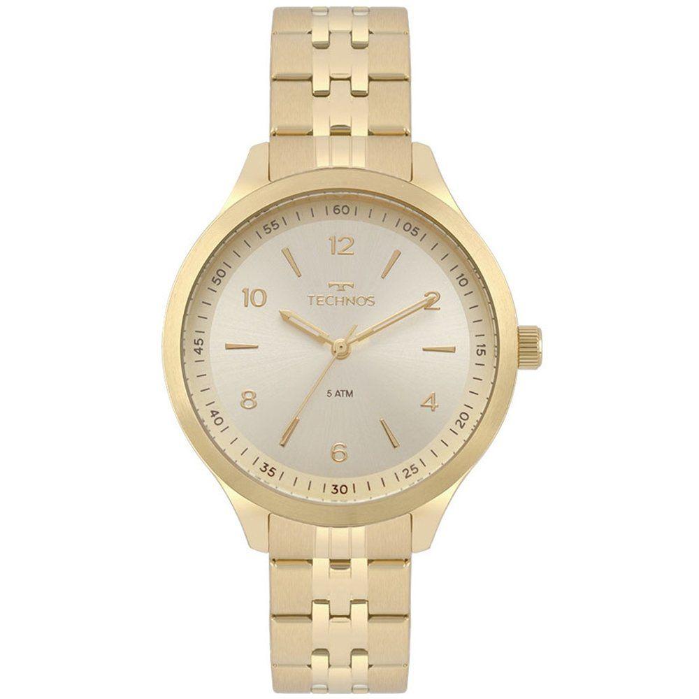 Relógio Feminino Technos Elegance Dress Dourado