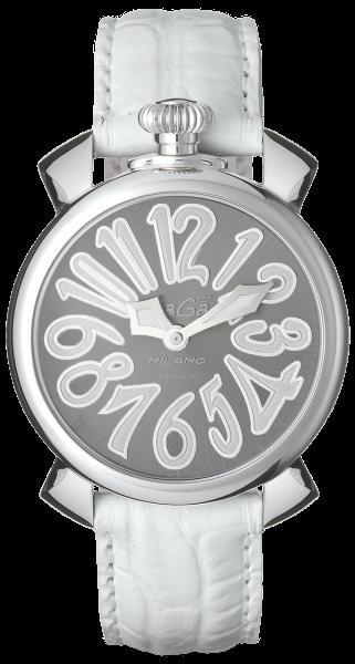Relógio Gagá  Milano Feminino Branco - Manuale 40mm - 5020
