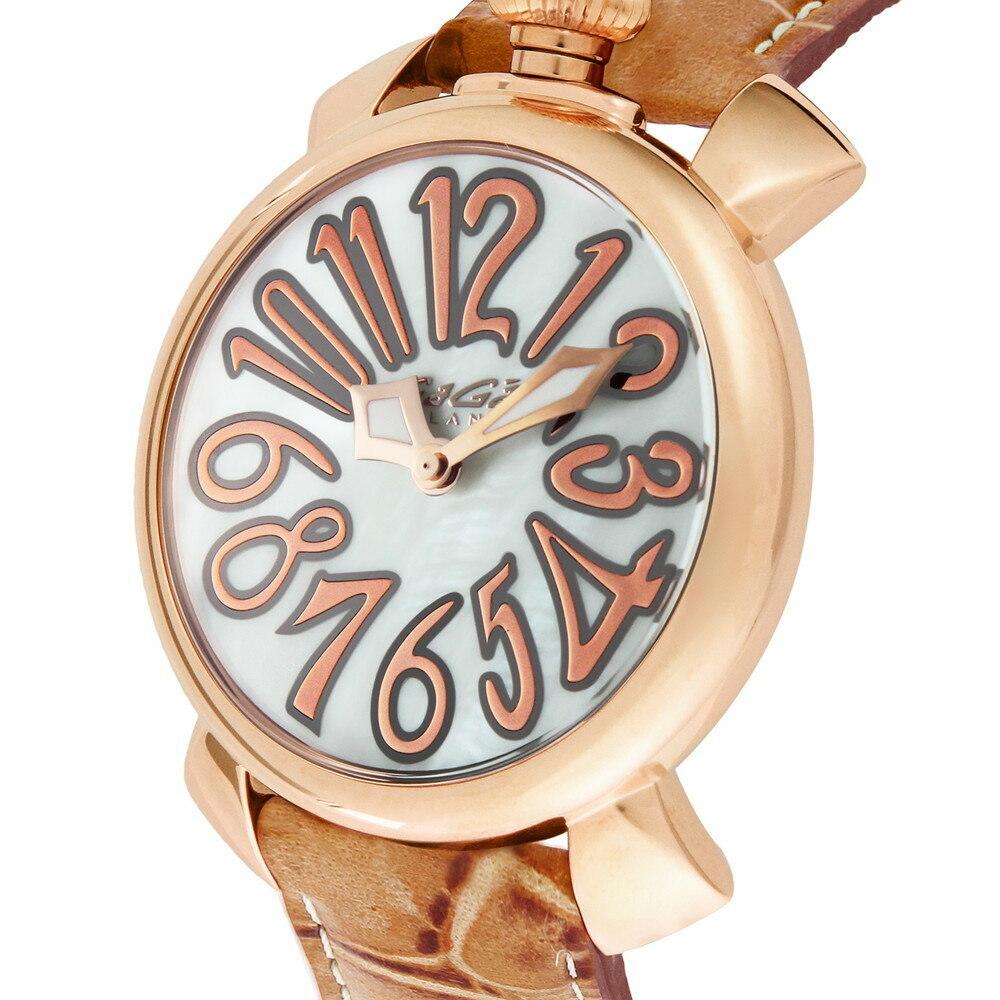 Relógio Gagá Milano Feminino Rosa - Manuale 40mm Gold - 50212