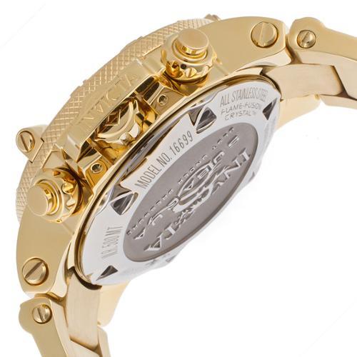 Relógio Invicta Dourado Feminino- Senhora Subaqua Noma III - 1669