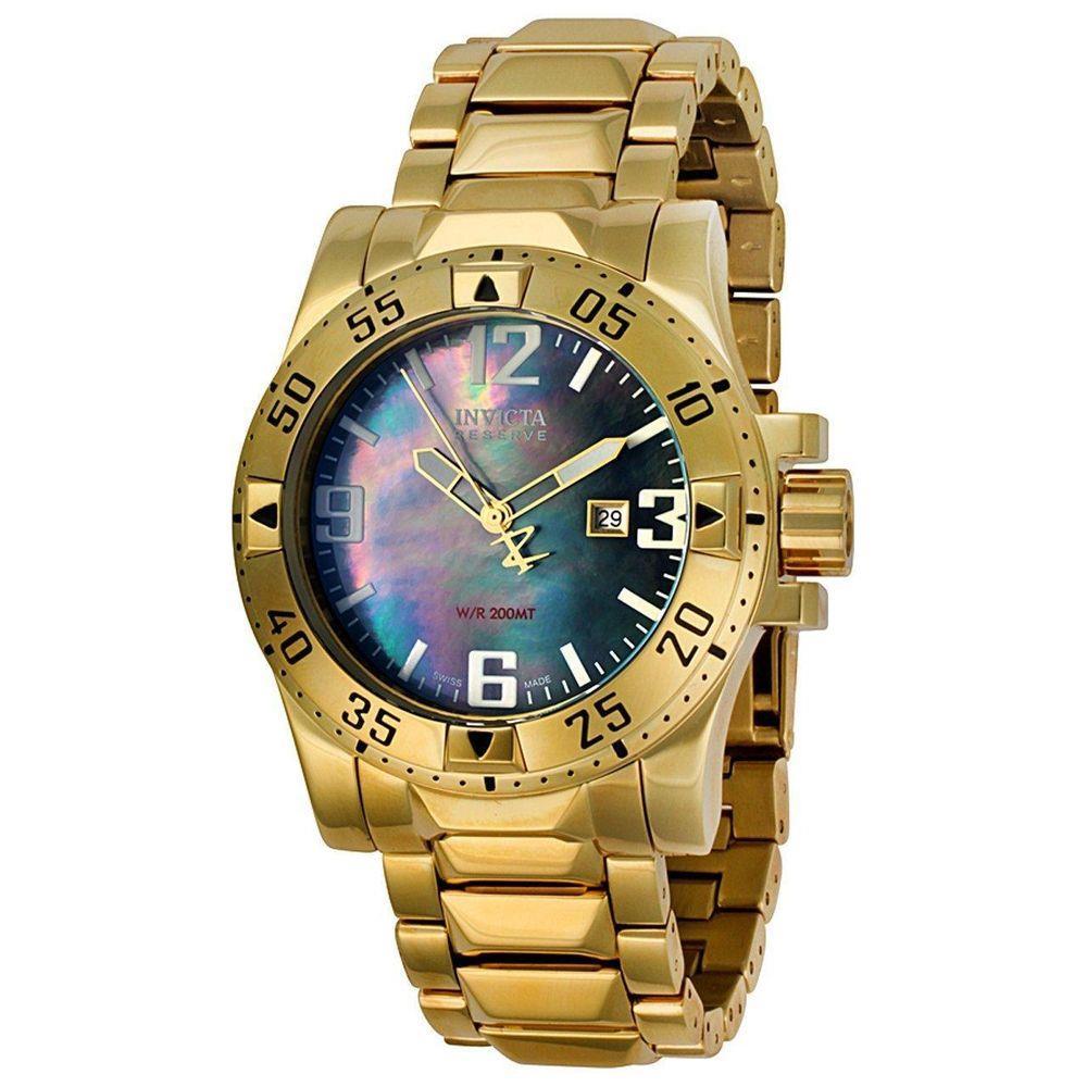 Relógio Invicta Masculinio Dourado - Excursion - 6243