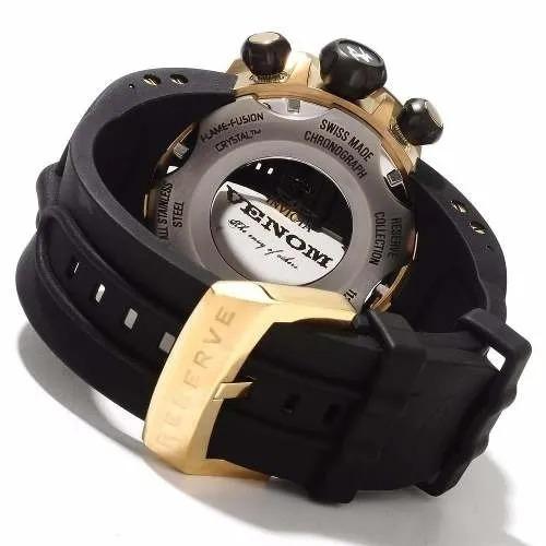 Relógio Invicta Masculinio Dourado - Venom Reserve - 10834
