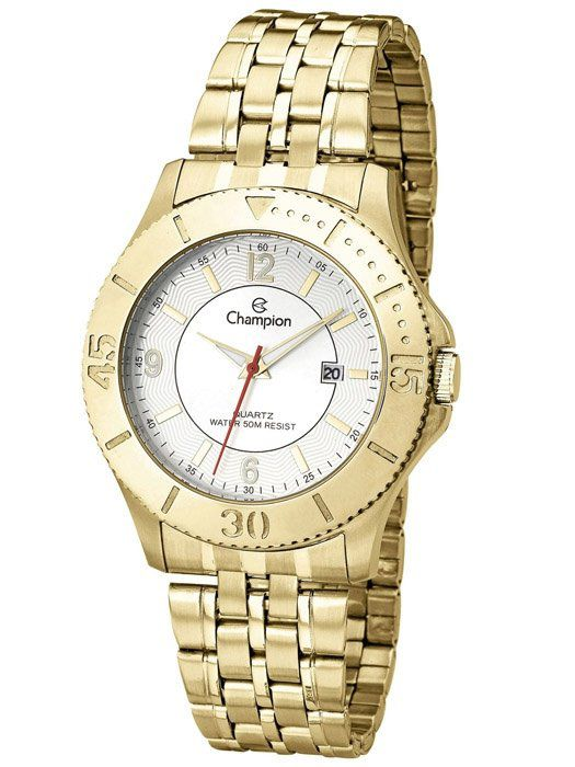 Relógio Masculino Champion Dourado