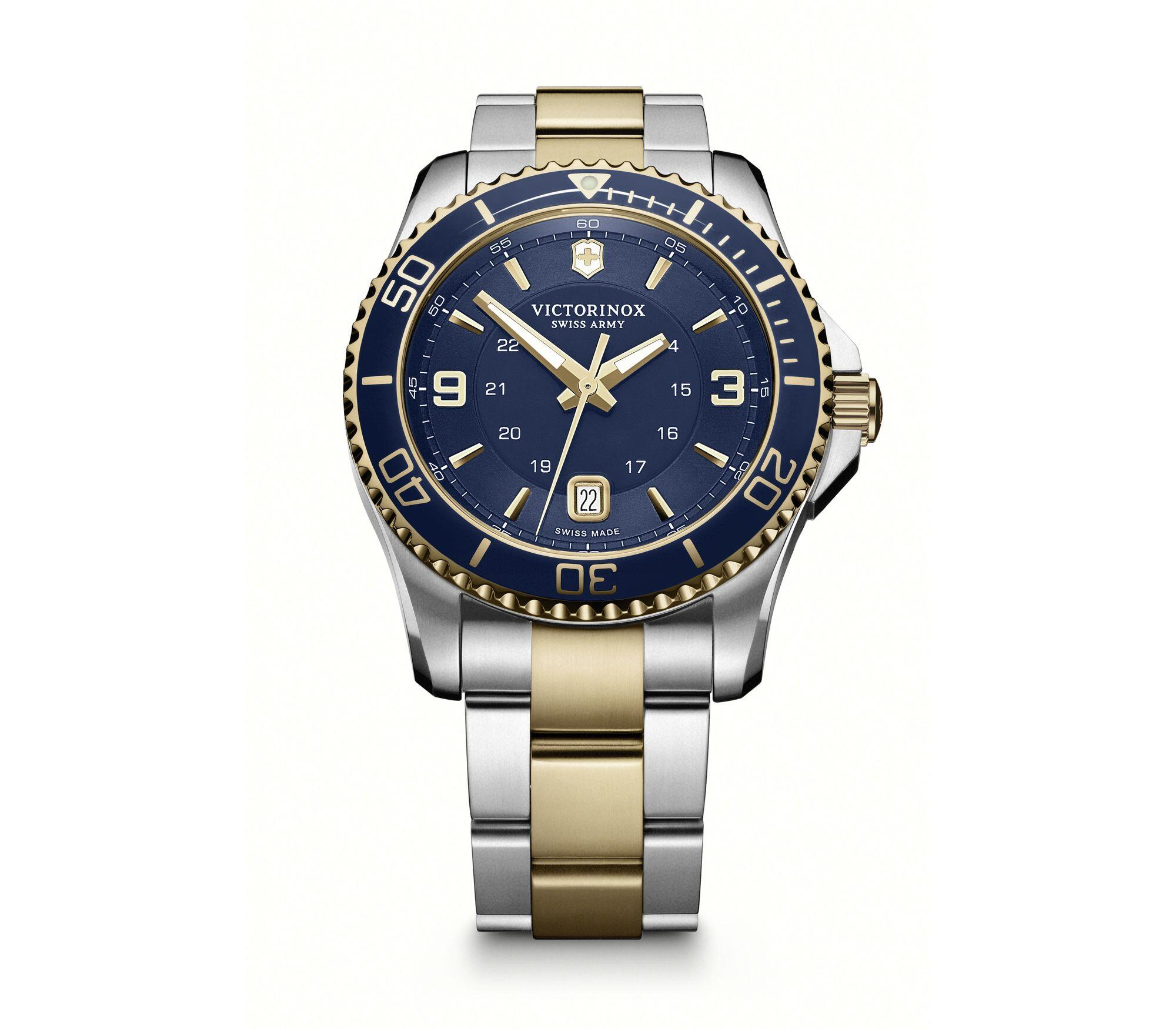 Relógio Masculino Victorinox Azul - Maverick - 241789