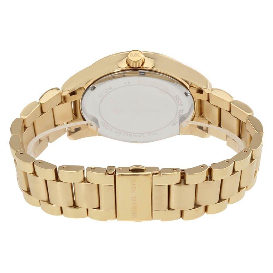 Relógio Michael Kors Feminino Dourado -  Layton --Mk6243