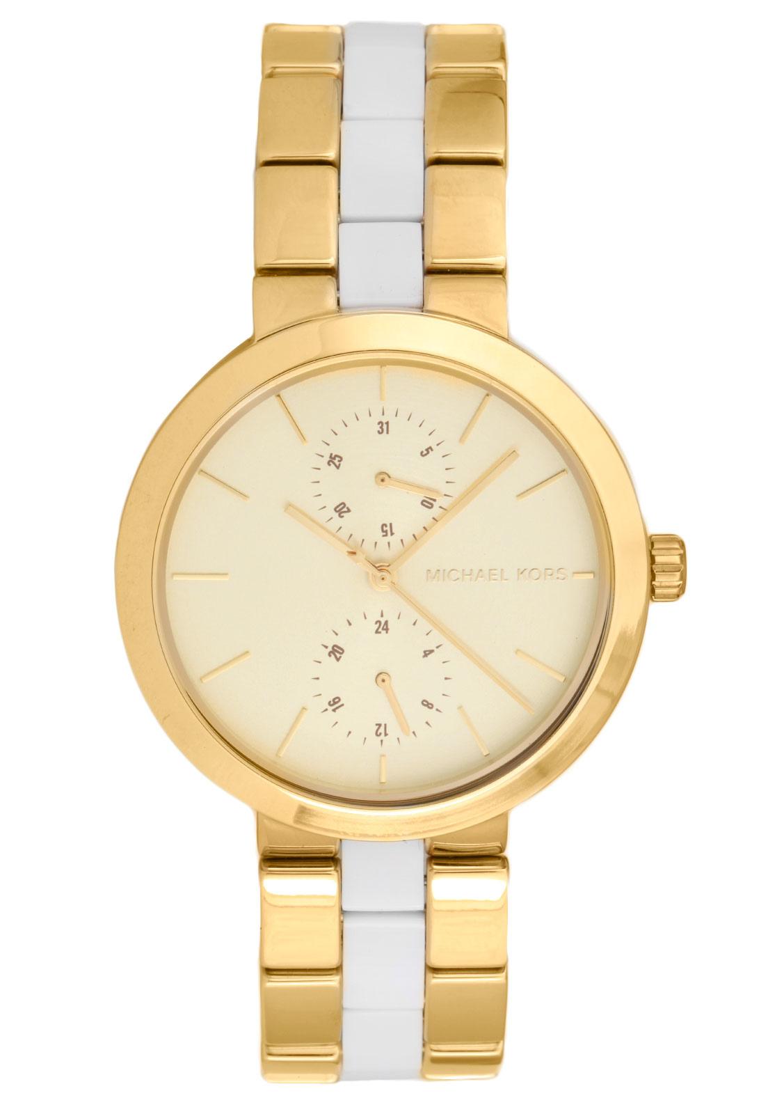 Relógio Michael Kors Feminino Dourado - MK6472/5DN