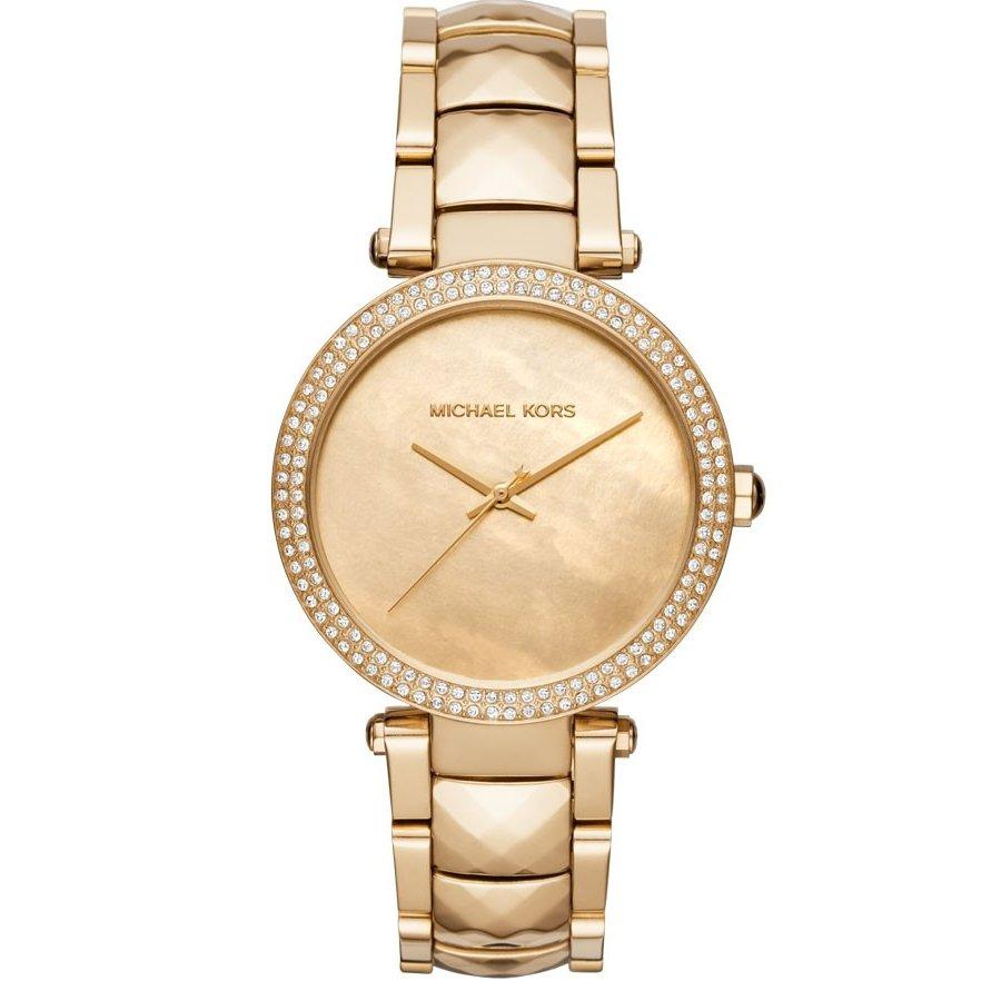 Relógio Michael Kors Feminino Dourado -  Parker - MK6425/4DN