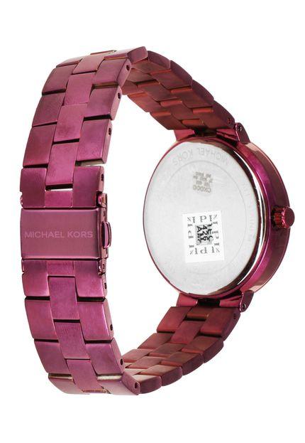 Relógio Michael Kors Feminino Roxo - Garner - MK6415/4PN