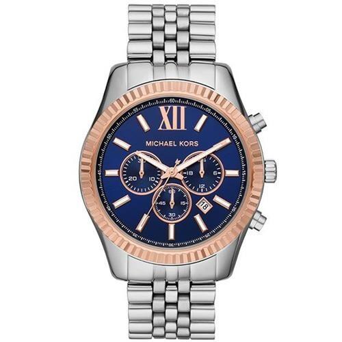 Relógio Michael Kors Feminino Prata/Rosê - MK8689/1KN
