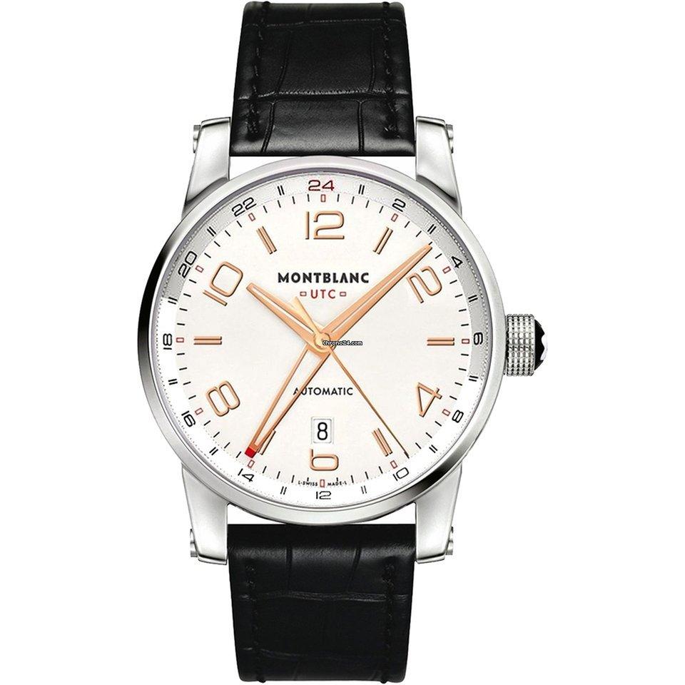 Relógio Montblanc Masculino Preto - Timewalker - 109136