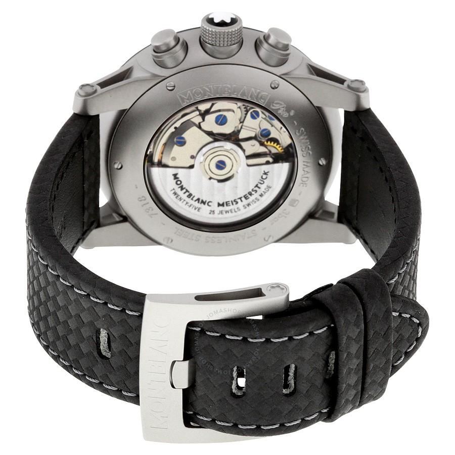 Relógio Montblanc Masculino Preto - TimeWalker Urban Speed Chronograph - 112604
