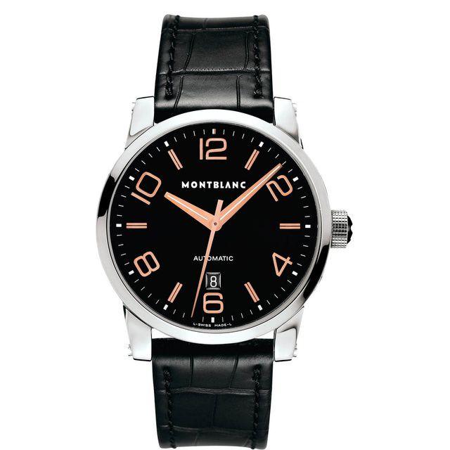 Relógio Montblanc  Masculino Preto - TimeWalker Automatic - 101551