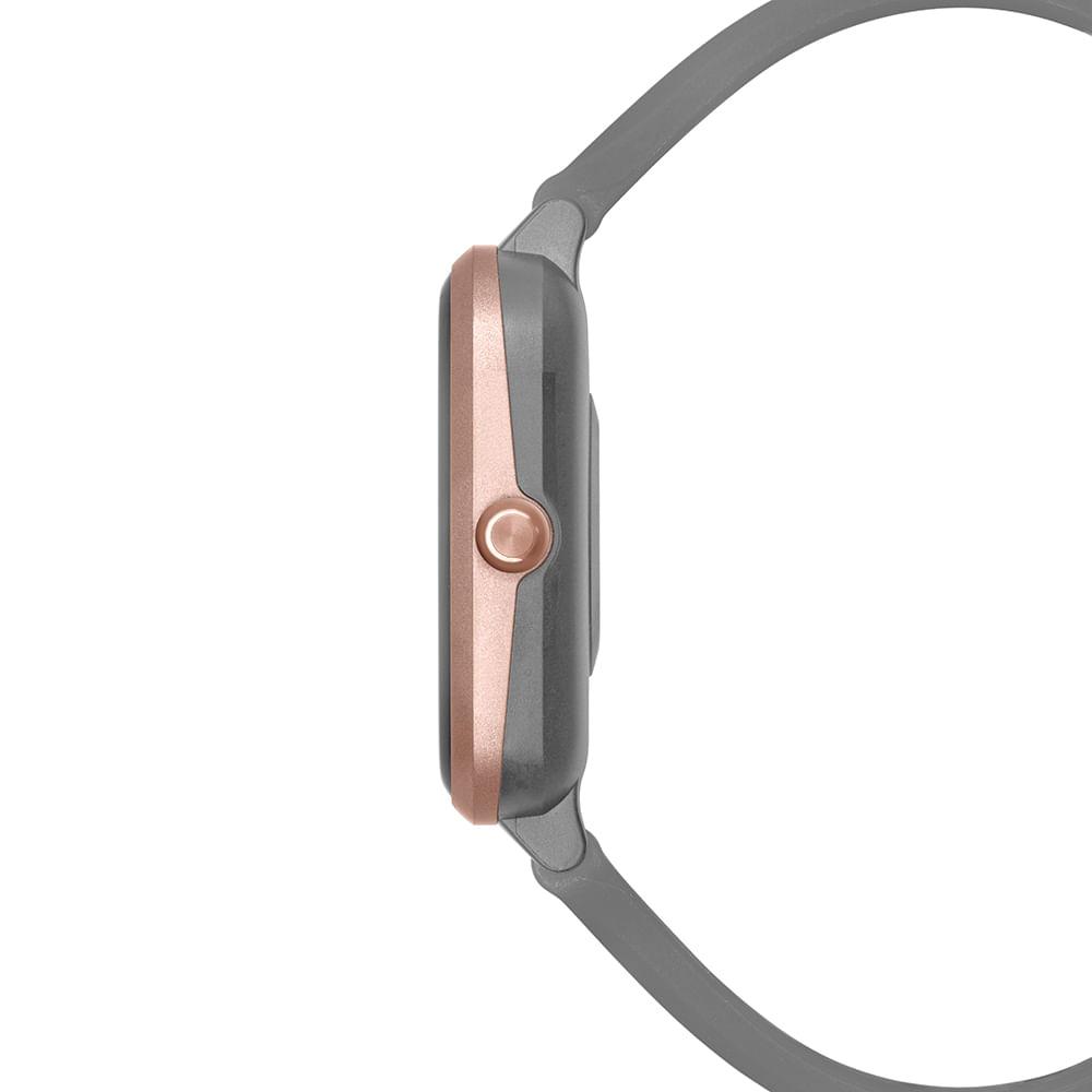Relógio Mormaii Cinza - Smartwatch - Molifeac/8k