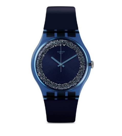 Relógio Swatch Silicone Preto SUON134