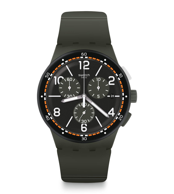 Relógio Swatch Masculino Cinza - Originals - SUSM405