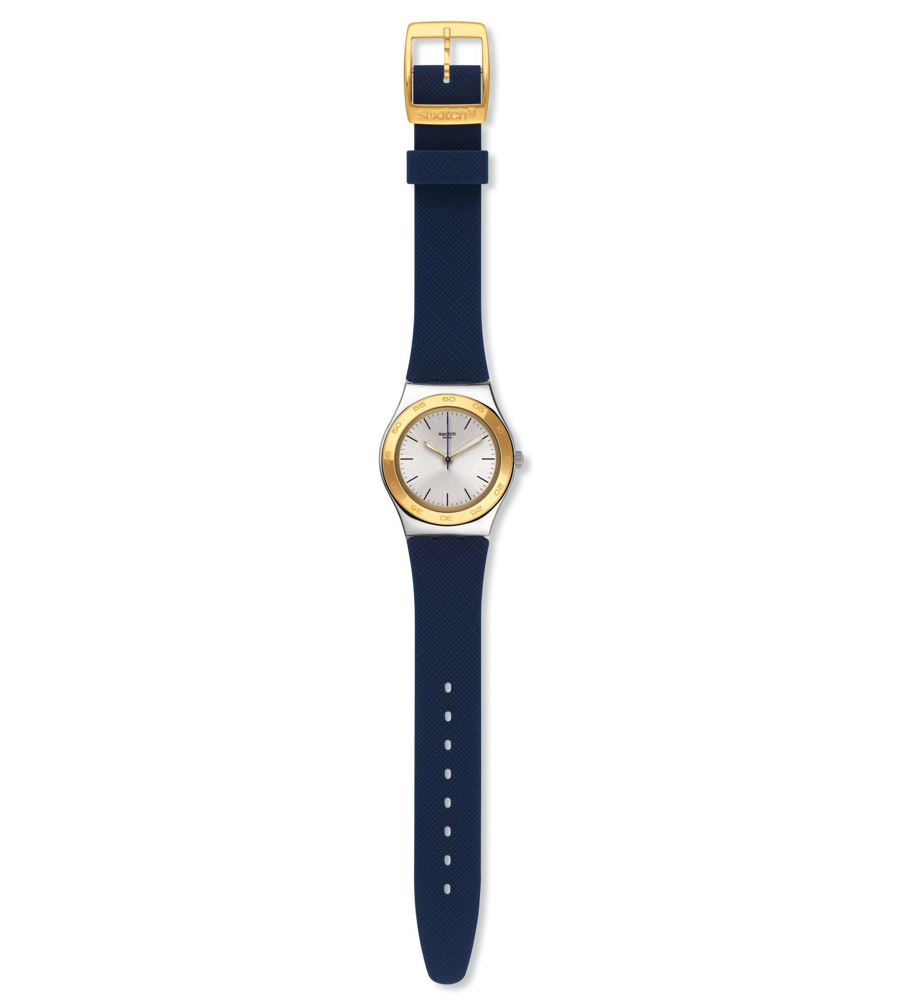 Relógio Swatch Blue Push