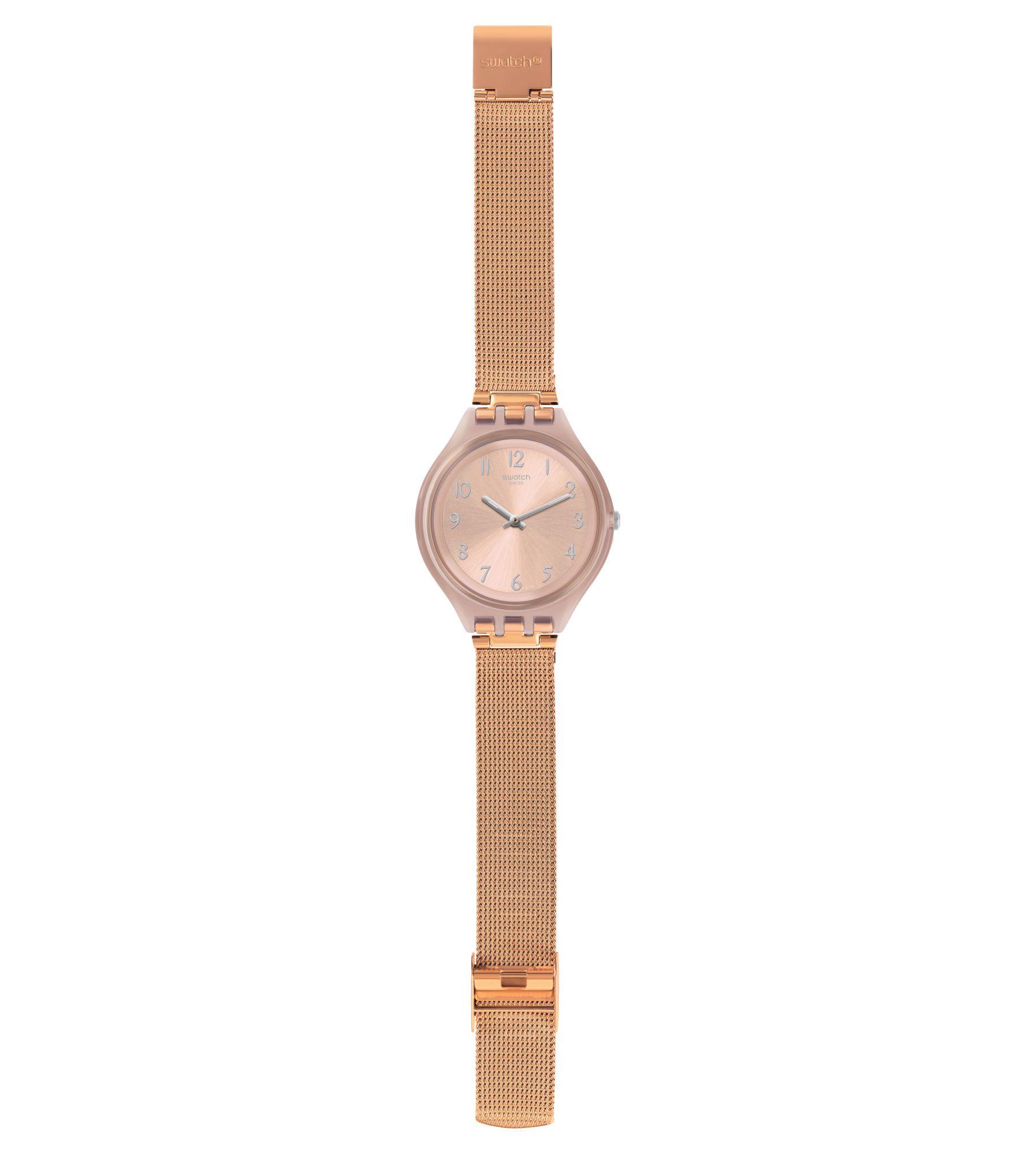 Relógio Swatch Feminino Rosè - Skinchic - SVUP100M
