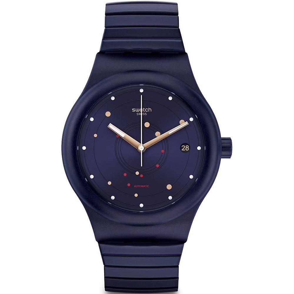Relógio Swatch Masculino  Azul - Sistem Sea - SUTN403