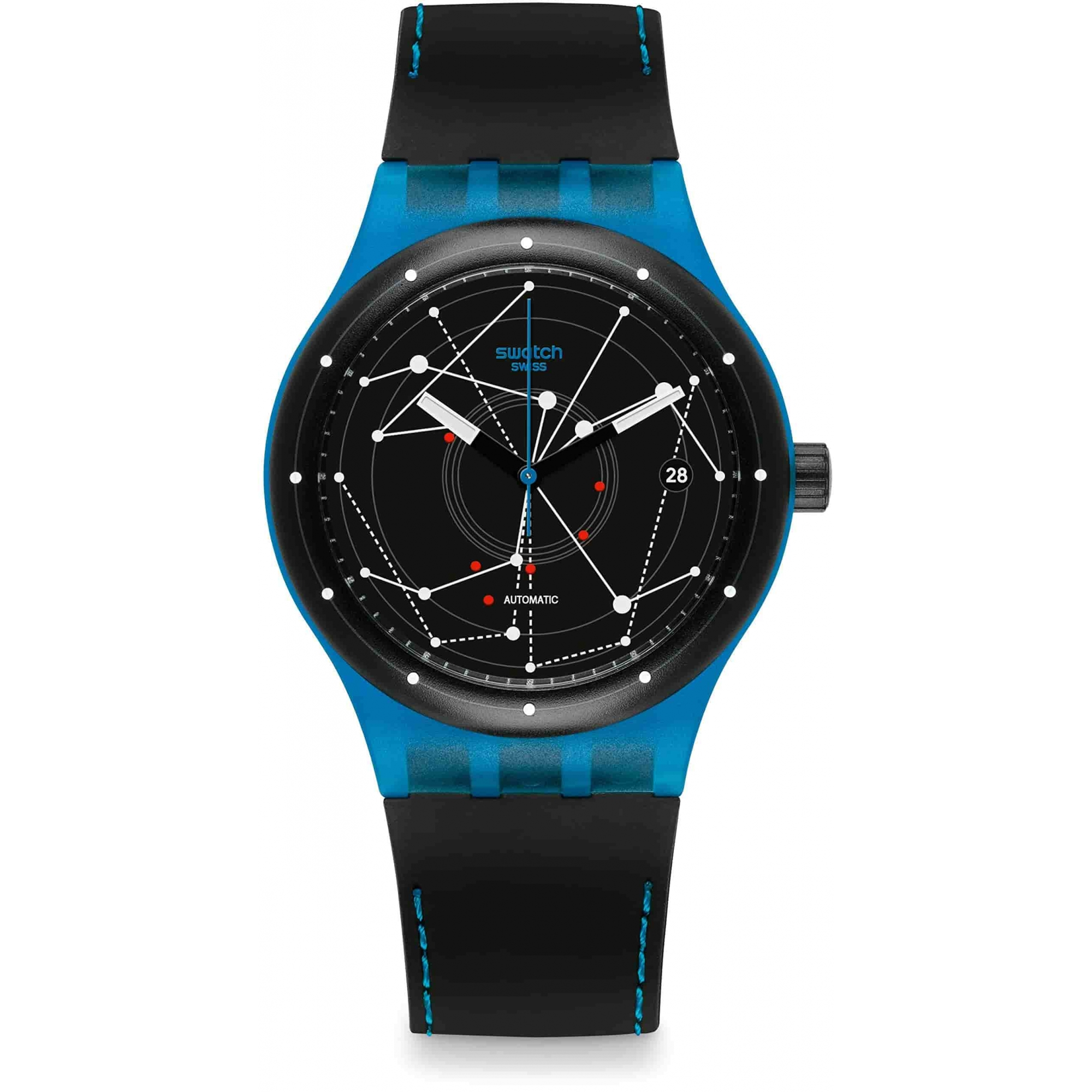 Relógio Swatch Masculino Azul - Sistem - SUTS401