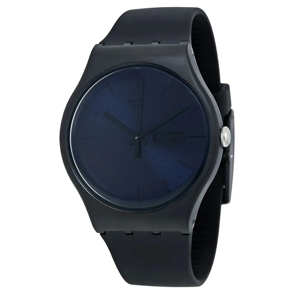 Relógio Swatch Masculino Preto - Black Rebel - SUOB702