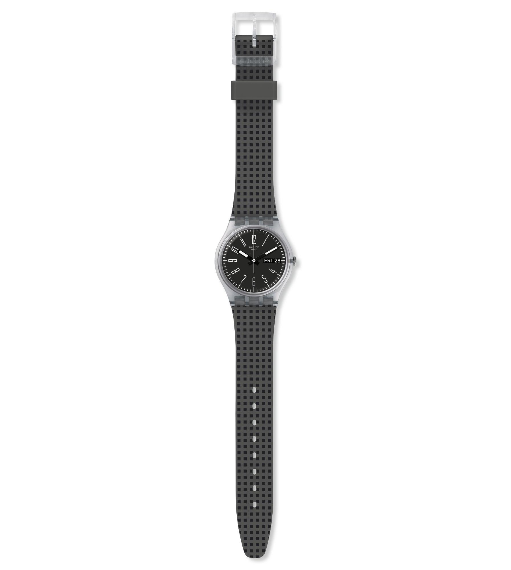 Relógio Swatch Masculino Preto - Efficient - GE712