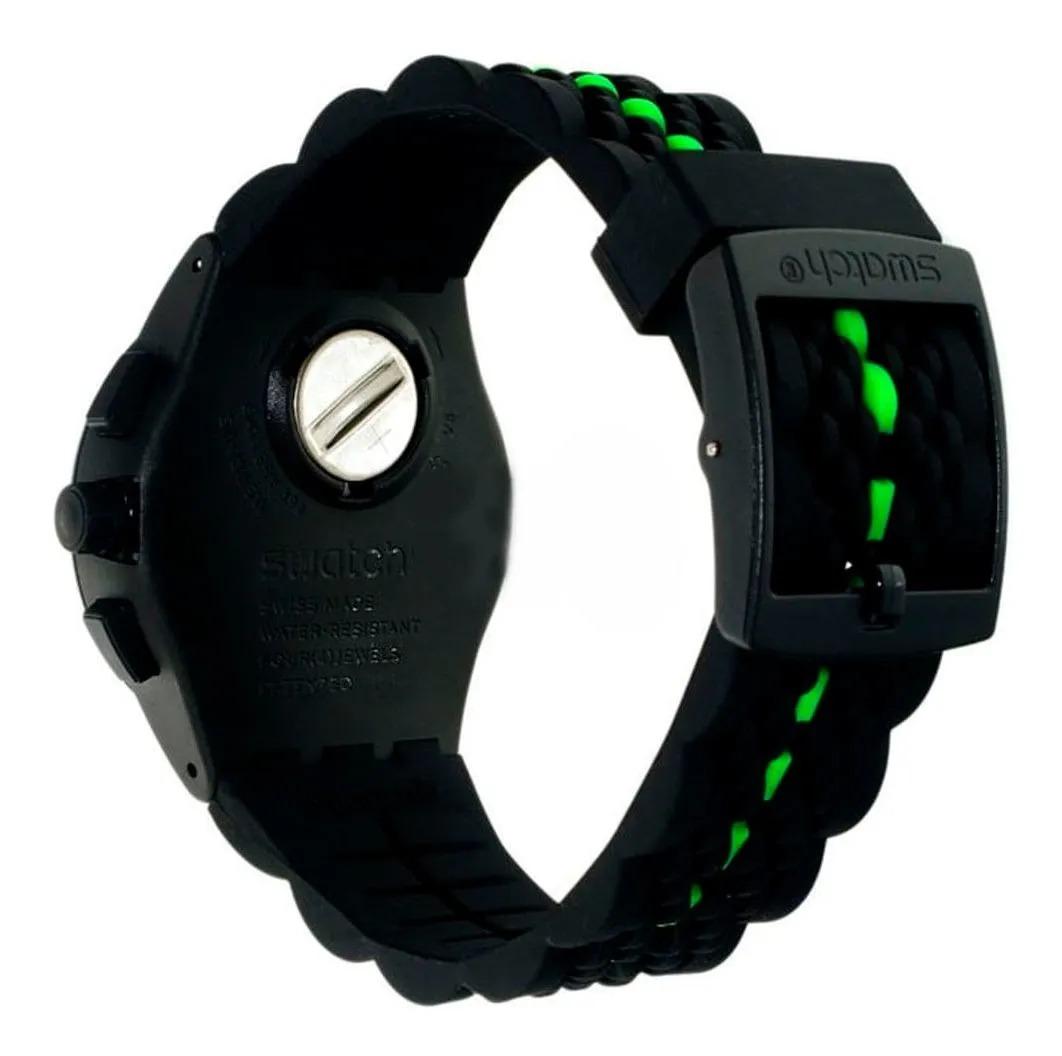 Relógio Swatch Masculino Preto - Laser Track - SUSB409
