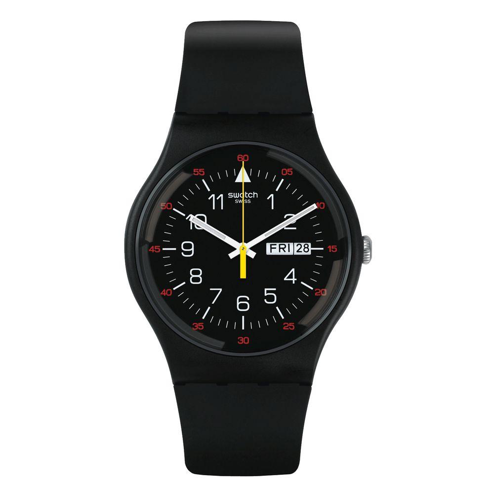 Relógio Swatch Masculino Preto - YOKORACE - SUOB724