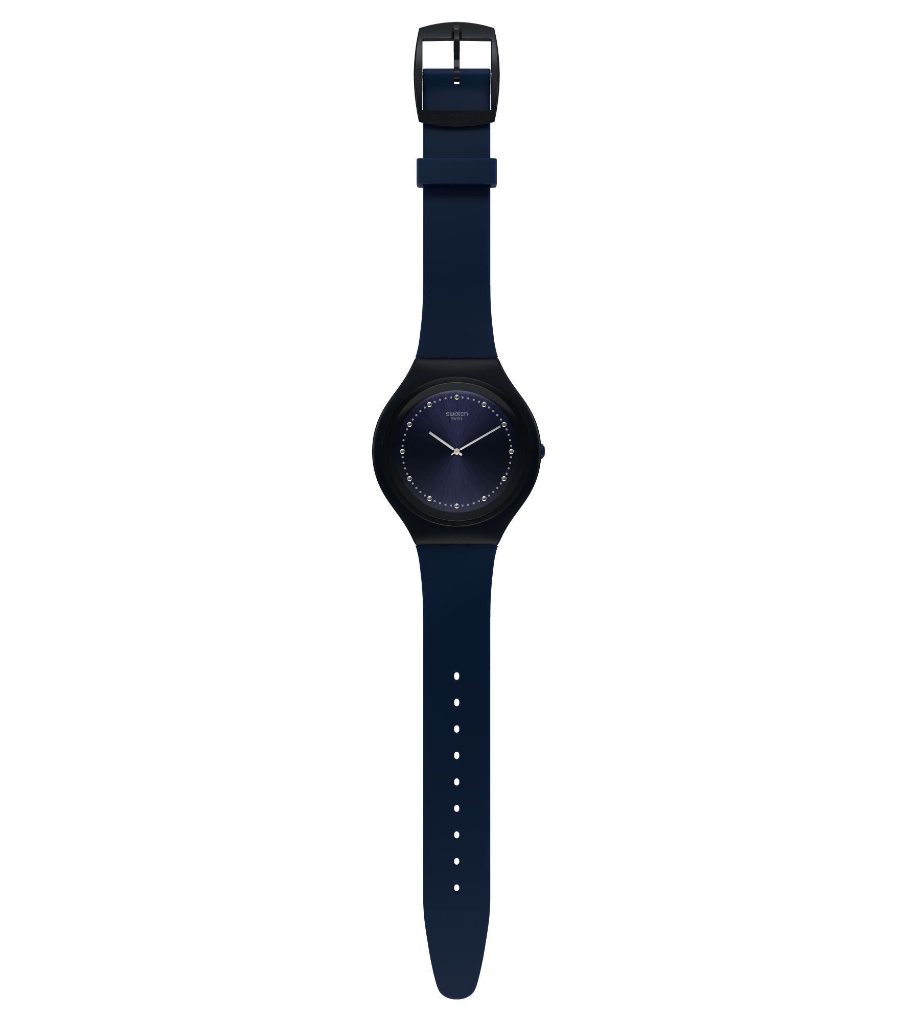 Relógio Swatch Feminino Azul - Skinsparks - SVUN100