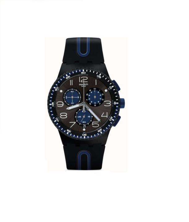 Relógio Swatch Masculino Preto SUSB406