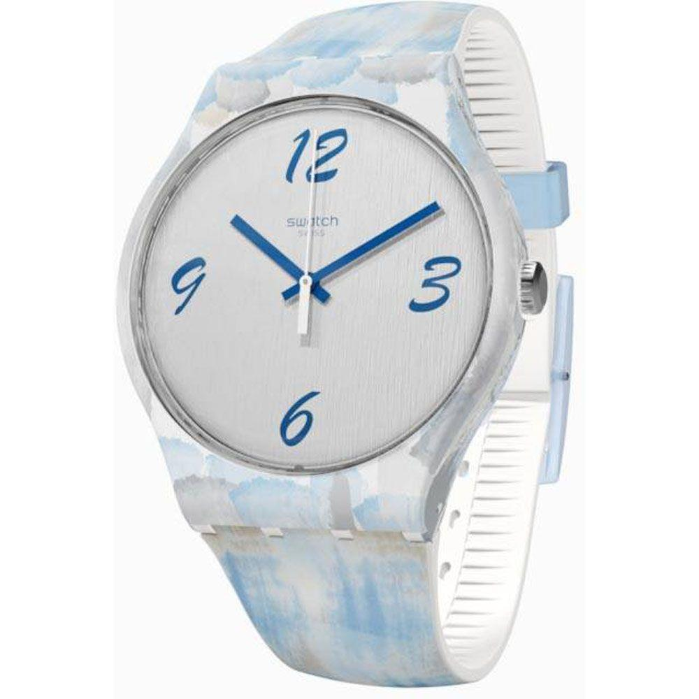 Relógio Swatch Unissex  Azul -  Bluquarelle - SUOW149