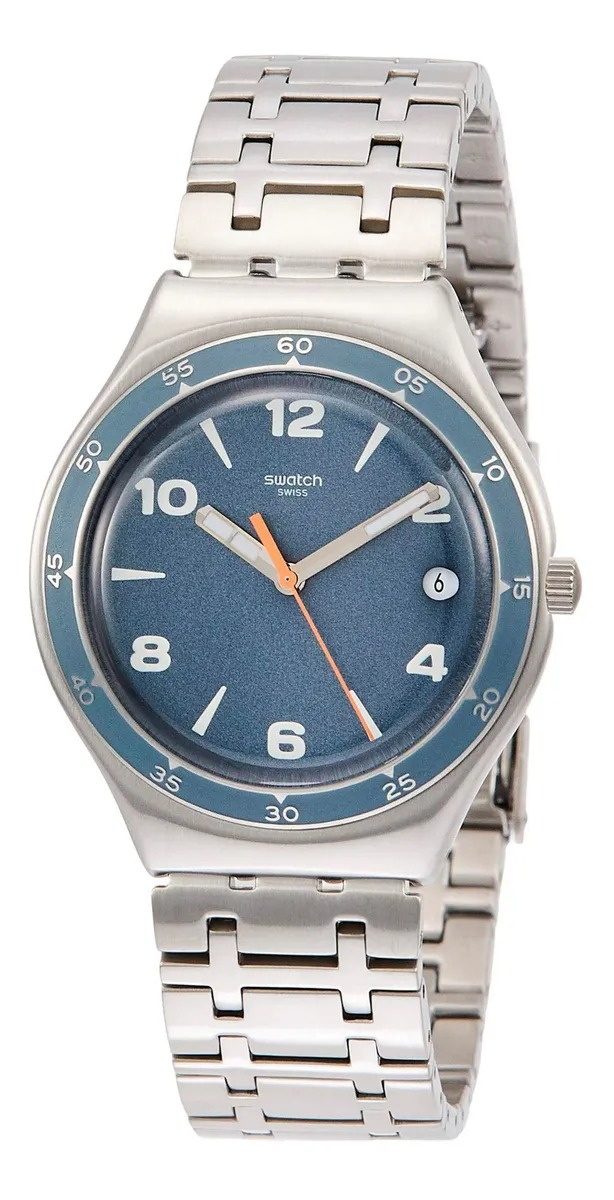 Relógio Swatch Unissex Azul - Enrik - YGS479G