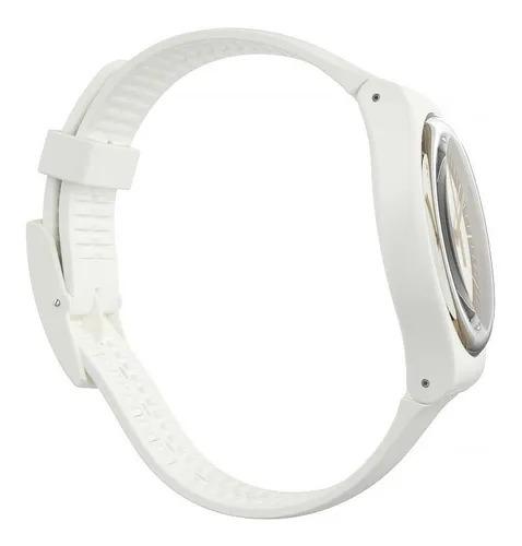 Relógio Swatch Unissex Branco - Siliwhite - SUOW158