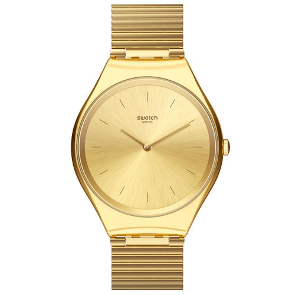 Relógio Swatch Unissex Dourado - Skinlingot - SYXG100GG