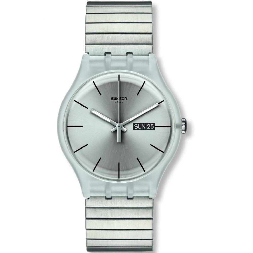 Relógio Swatch Unissex Prata - Resolution - SUOK700B