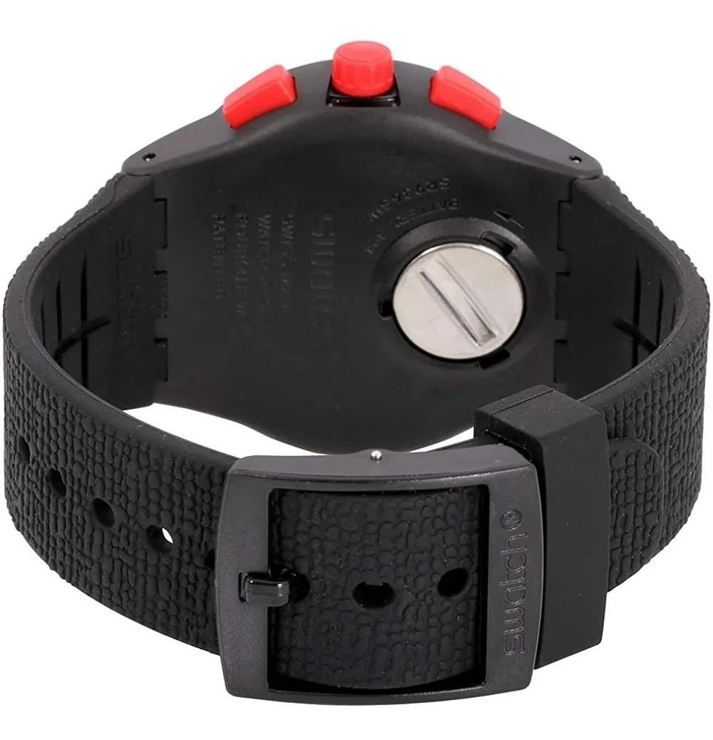 Relógio Swatch Unissex Preto - Stand Hall - SUSB411