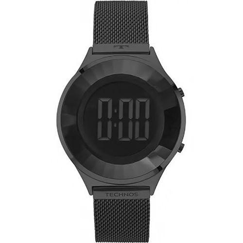 Relógio Technos Feminino Crystal Preto