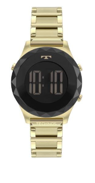 Relógio Technos Feminino Digital Dourado