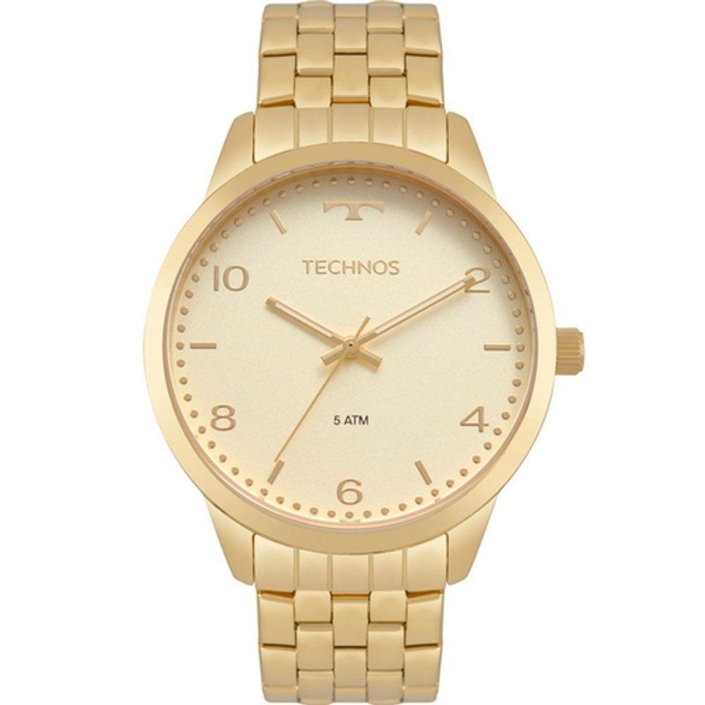 Relógio Technos Feminino Dourado - Dress - 2035MPJ/4X