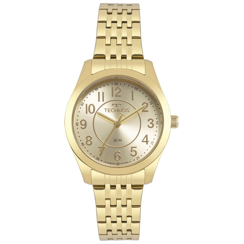 Relógio Technos Feminino Dourado - Boutique - 2035MJDS/4X