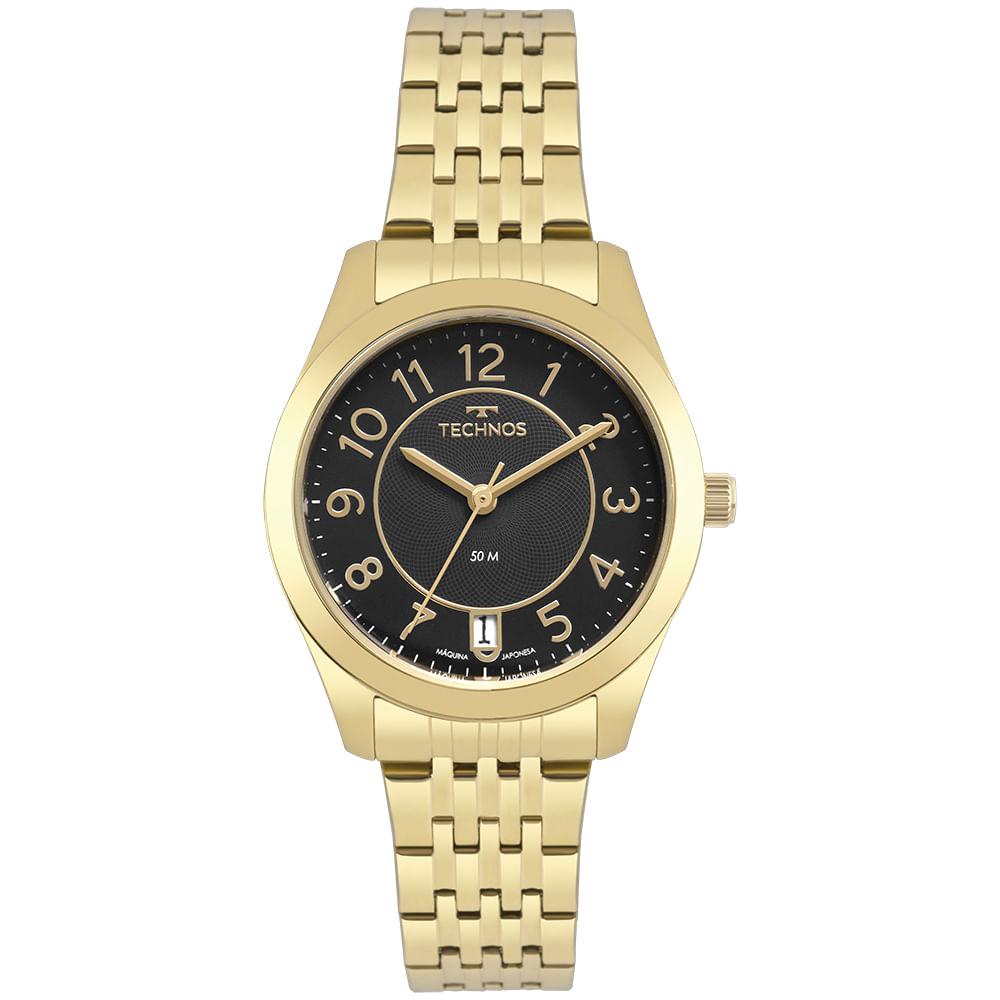 Relógio Technos Feminino Dourado - Boutique - 2115KNJS/4P