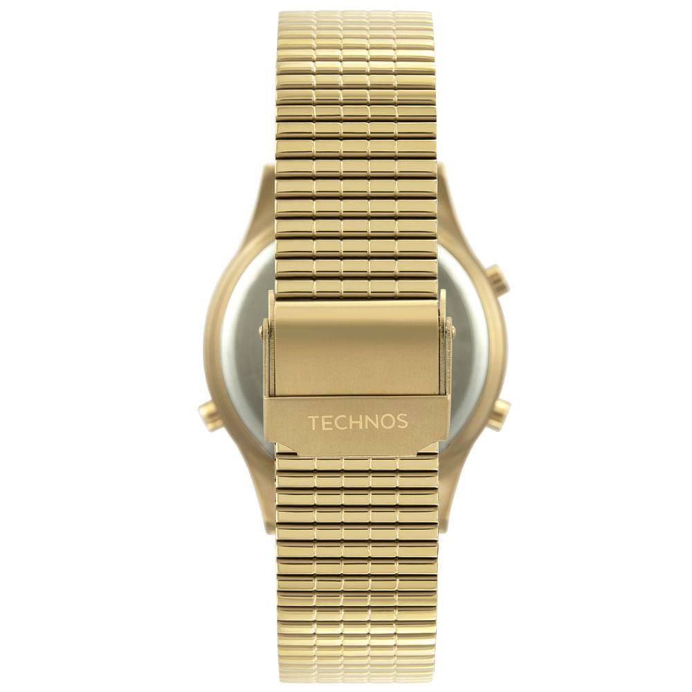Relógio Technos Feminino Dourado - Digital - BJ3927AA/K1C