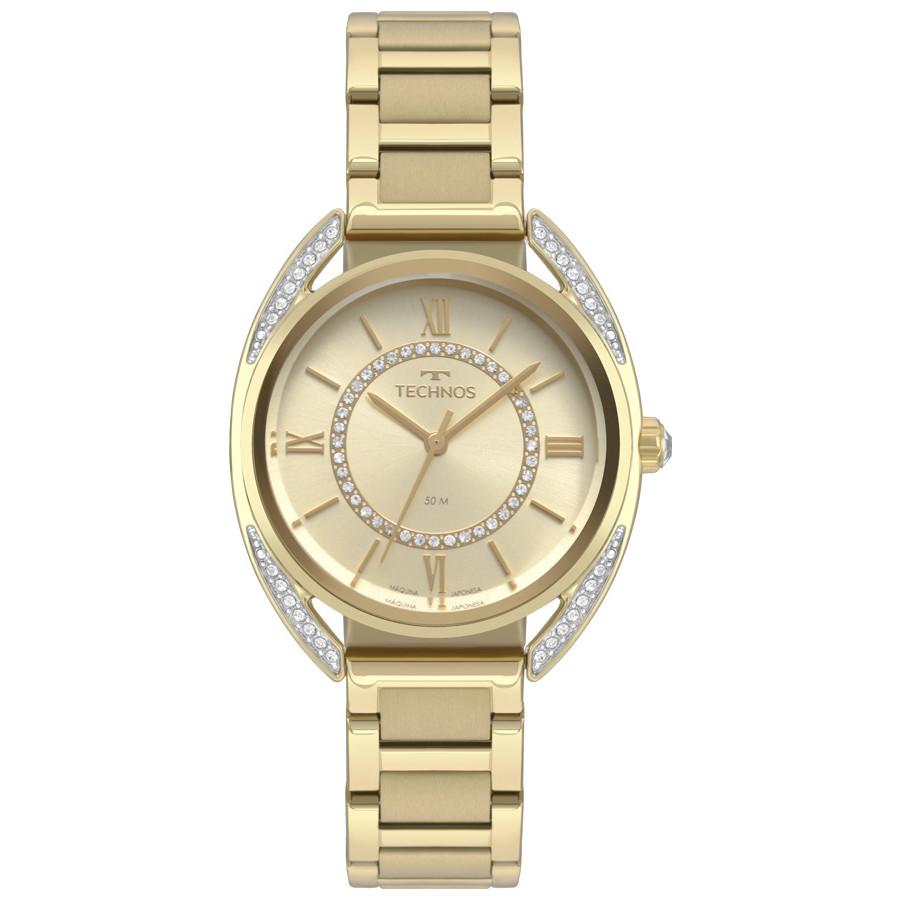 Relógio Technos Feminino  Dourado - Elegance - 2035MRD/4X