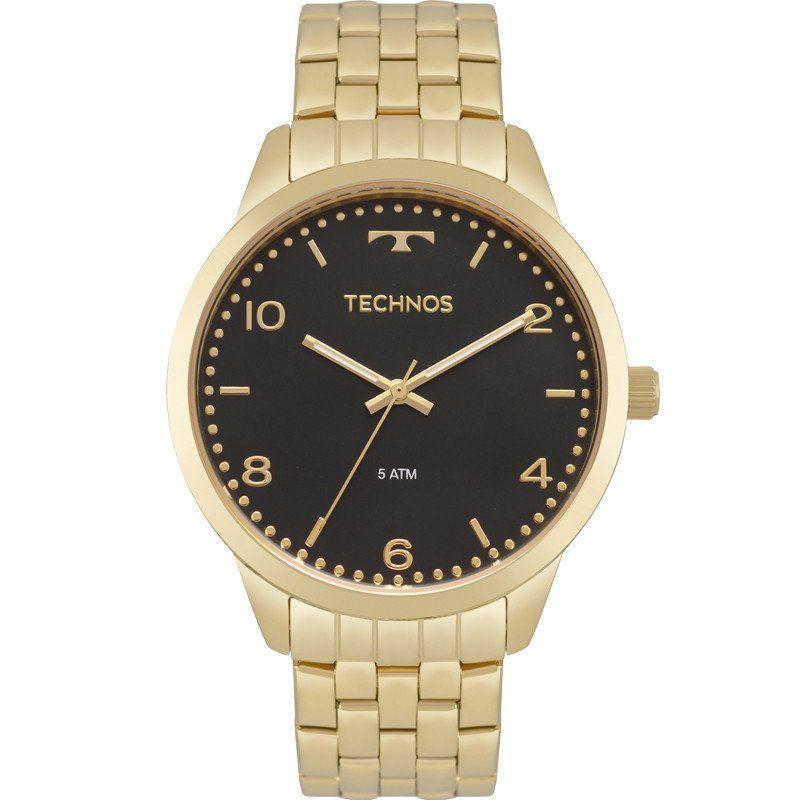 Relógio Technos Feminino Dourado Elegance
