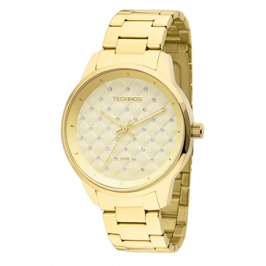 Relógio Technos Feminino Dourado - Fashion Trend - 2035LXU/4D