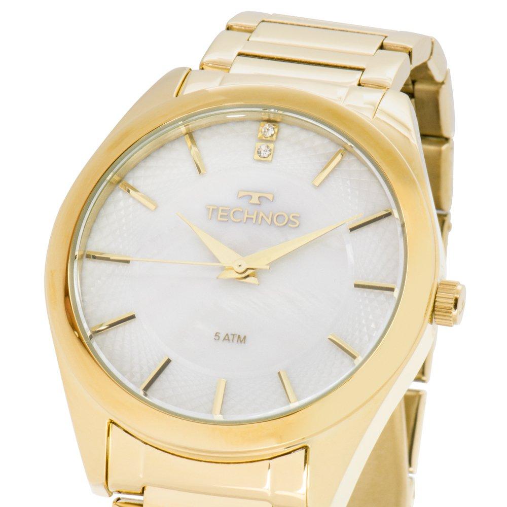 Relógio Technos Feminino Dourado - St Moritz - 2036LOU/4B